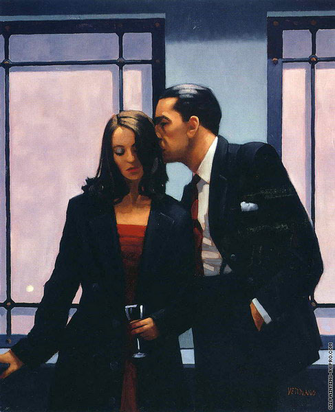Contemplation of Betrayal (Vettriano)