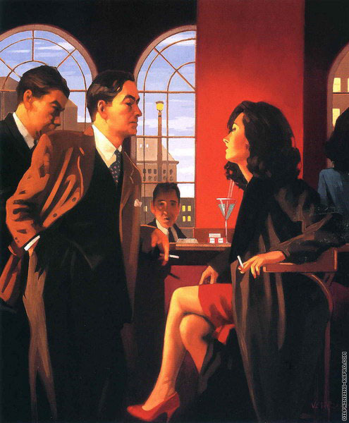 The Red Room (Vettriano)