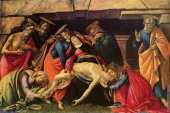 Lamentation over the dead body of Christ (Botticelli)
