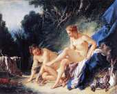 Diana resting after her bath (Boucher)