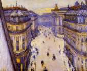 Rue Halevy - Seen from the Sixth Floor (Caillebotte)