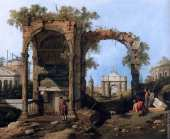 Capriccio with Ruins 2 (Canaletto)