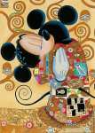 The Hug of Mickey (after Klimt)