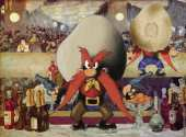Yosemite Sam at the Bar of Folies-Bergère (after Manet)
