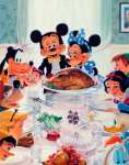 The Thanksgiving of Disney (after Rockwell)