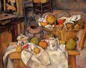 The kitchen table (Cezanne)