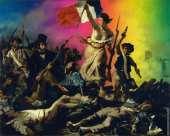 Liberty Leading the People (Delacroix) - CUSTOMIZABLE