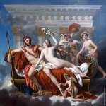 Mars Being Disarmed by Venus* (David)