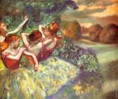 Four dancers (Degas)