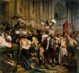 The Conquerors of the Bastille in front of the City Hall (Delaroche)