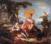 The musical contest (Fragonard)