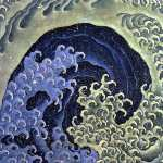 Femenine Wave (Hokusai)