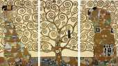 Triptych of Tree of life (Klimt)