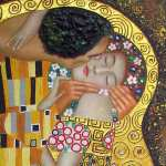 The kiss* (Klimt)