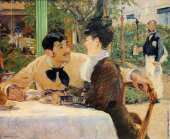 In the father Lathuille (Manet)