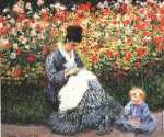 Camille Monet and Jean (Monet)
