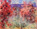 Flowering Trees near the Coast (Monet)