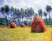 Haystacks at Giverny (Monet)