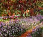 The Artist's Garden at Giverny* (Monet)