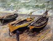 Three Fishing Boats (Monet)