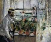 Eugene Manet on the Isle of Wight (Morisot)