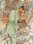 The Four Seasons - Winter* (Mucha)