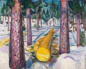 The Yellow Log (Munch)