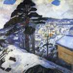 Winter - Kragero (Munch)