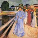 Women on the Bridge 2 (Munch)