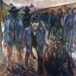 Workers on their Way Home (Munch)
