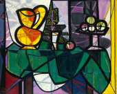 Pitcher and Bowl of Fruit (Picasso)