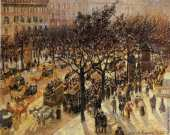 Boulevard of the Italians in the afternoon (Pissarro)