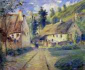 Cottages at Auvers near Pontoise (Pissarro)