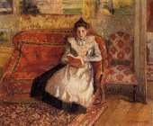 Jeanne Reading (Pissarro)