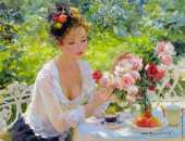 The Roses from the Garden (Razumov)