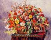 Basket of Flowers (Renoir)