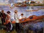 Oarsmen at Chatou (Renoir)
