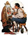 Sign Painter (Rockwell)