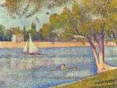 The Seine at La Grand Jatte (Seurat)