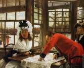 An Interesting Story (Tissot)