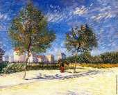Suburbs of Paris (Van Gogh)