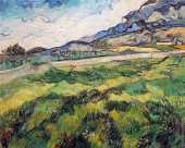 Green Wheat Field (Van Gogh)