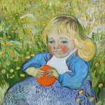 The Child with Orange (Van Gogh)