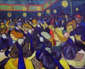 The ballroom at Arles (Van Gogh)