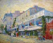 The Mermaid Restaurant at Asnieres (Van Gogh)