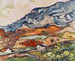 Mountainous Landscape near Saint Remy (Van Gogh)