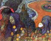 Memory of the garden at Etten - Women of Arles (Van Gogh)
