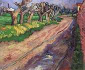 Willows Pruned (Van Gogh)