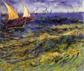 Seascape at Saintes Maries 2 (Van Gogh)