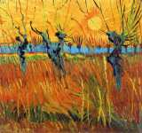 Willows at Sunset (Van Gogh)
